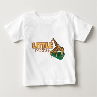 T-shirt Pour Bébé Petit frère (girafe)
