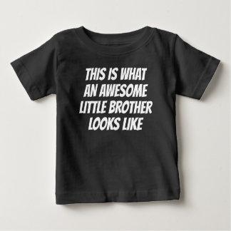 T-shirt Pour Bébé Petit frère impressionnant