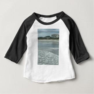T-shirt Pour Bébé Petit héron sur la plage