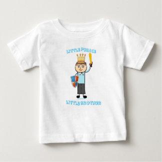 T-shirt Pour Bébé Petit prince petit frère