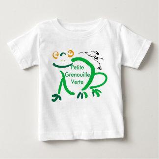 T-shirt Pour Bébé petit verte de grenouille