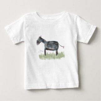 T-shirt Pour Bébé Petite pièce en t heureuse d'âne