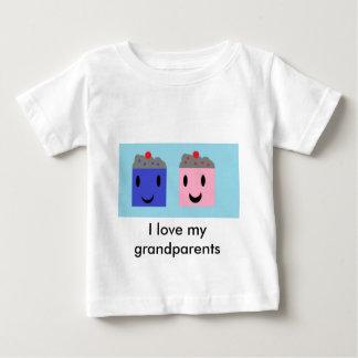 T-shirt Pour Bébé Petits gâteaux de grand-parent