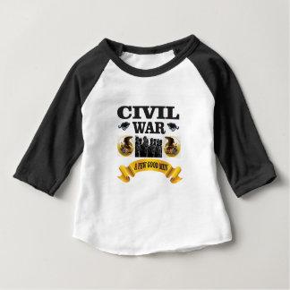 T-shirt Pour Bébé peu de bons hommes de guerre civile