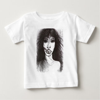 T-shirt Pour Bébé Peu un faux