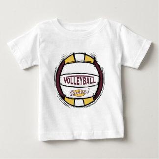 T-shirt Pour Bébé Peut la fouille d'U il volleyball