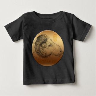 T-shirt Pour Bébé Pièce en t chinoise de bébé de zodiaque