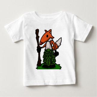 T-shirt Pour Bébé Pièce en t de bébé de druide de Fox