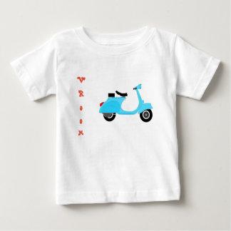 T-shirt Pour Bébé pièce en t de scooter