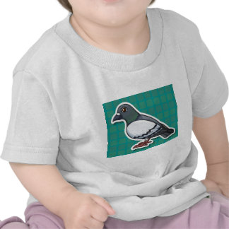 T-shirt Pour Bébé Pigeon