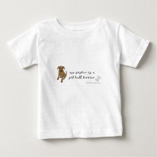 T-shirt Pour Bébé pitbull
