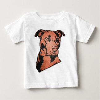T-shirt Pour Bébé Pitbull chien