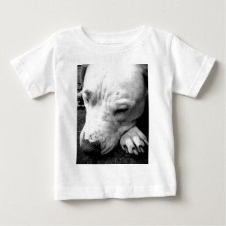 T-shirt Pour Bébé pitbull de blanc de chien de cicatrice de Harry