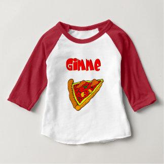 T-shirt Pour Bébé Pizza de Gimme
