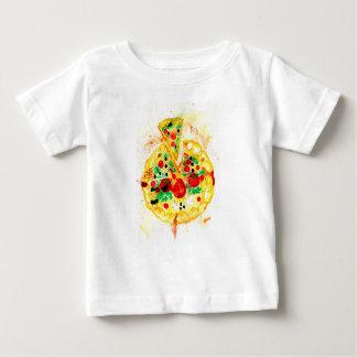 T-shirt Pour Bébé Pizza savoureuse