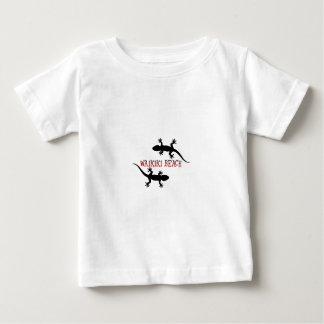 T-shirt Pour Bébé plage Hawaï de waikiki
