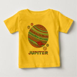 T-shirt Pour Bébé Planète Jupiter de Z et mode de geek de l'espace