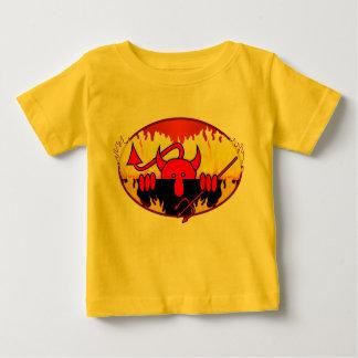 T-shirt Pour Bébé Plante grimpante de Kilroy de diable