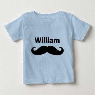 T-shirt Pour Bébé Plantes grimpantes et chemises noires de bébé de