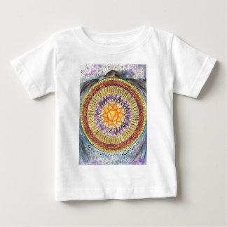 T-shirt Pour Bébé Plexus solaire Chakra