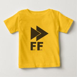 T-shirt Pour Bébé Poissons rapides
