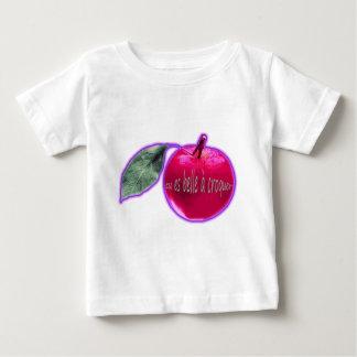 """T-shirt Pour Bébé Pomme Rose """"Belle à croquer"""""""