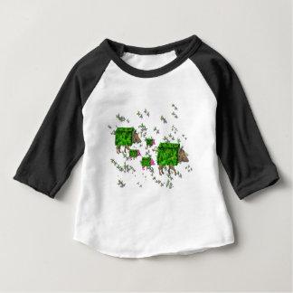 T-shirt Pour Bébé porcs britanniques de haie