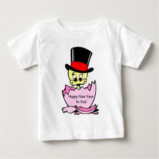 T-shirt Pour Bébé Poussin de bonne année