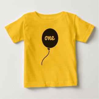 T-shirt Pour Bébé Première chemise de l'anniversaire du bébé