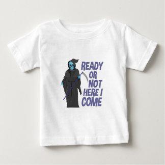T-shirt Pour Bébé Préparez ou pas