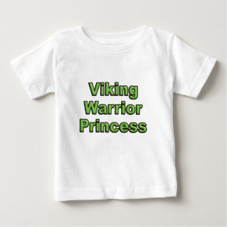 T-shirt Pour Bébé Princesse de guerrier de Viking