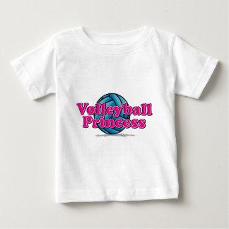 T-shirt Pour Bébé Princesse de volleyball
