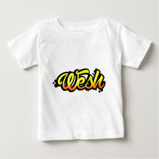 T-shirt Pour Bébé Produit graffiti wesh
