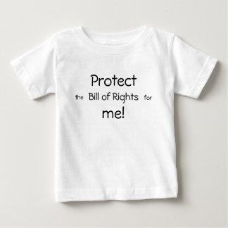 T-shirt Pour Bébé Protégez-moi !