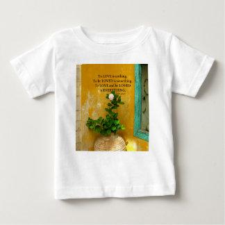 T-shirt Pour Bébé proverbe de Grec de citation d'amour de