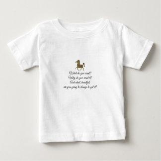 T-shirt Pour Bébé Que voulez-vous la licorne ?