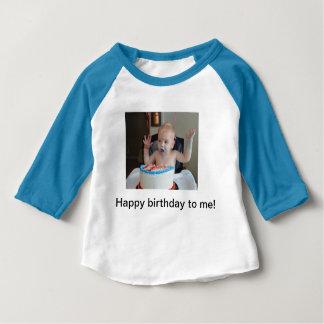 T-shirt Pour Bébé Raglan d'anniversaire