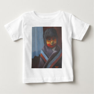 T-shirt Pour Bébé Rayures indigènes