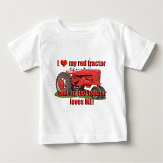 T-shirt Pour Bébé red_tractor_love