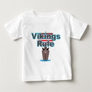 T-shirt Pour Bébé Règle de Vikings