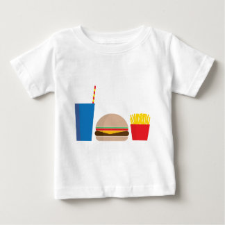 T-shirt Pour Bébé repas de rapide