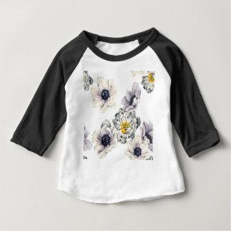 T-shirt Pour Bébé Ressort frais de fleur d'anémone florale de