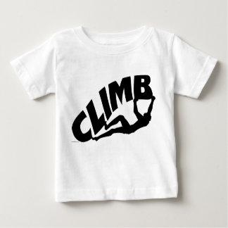 T-shirt Pour Bébé Roche Bouldering