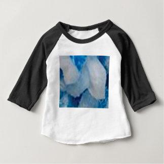 T-shirt Pour Bébé roches bleues et blanches