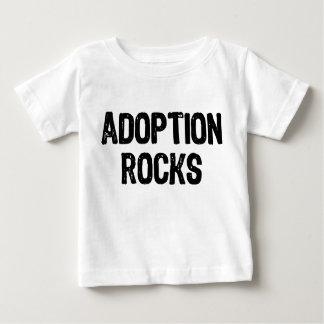 T-shirt Pour Bébé Roches d'adoption