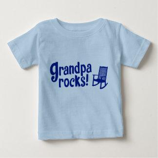 T-shirt Pour Bébé Roches de grand-papa