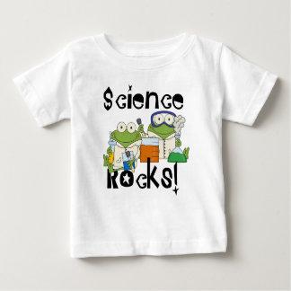 T-shirt Pour Bébé Roches de la Science de grenouilles