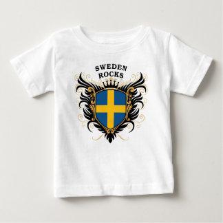 T-shirt Pour Bébé Roches de la Suède