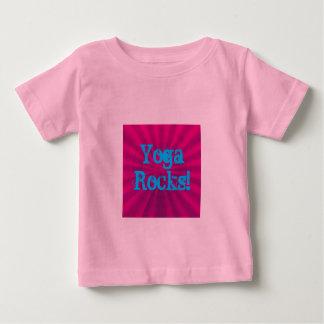 T-shirt Pour Bébé Roches de yoga ! - Chemise de yoga de bébé