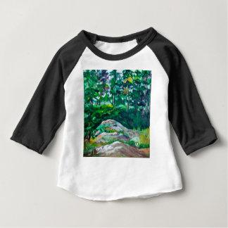 T-shirt Pour Bébé Roches et arbres